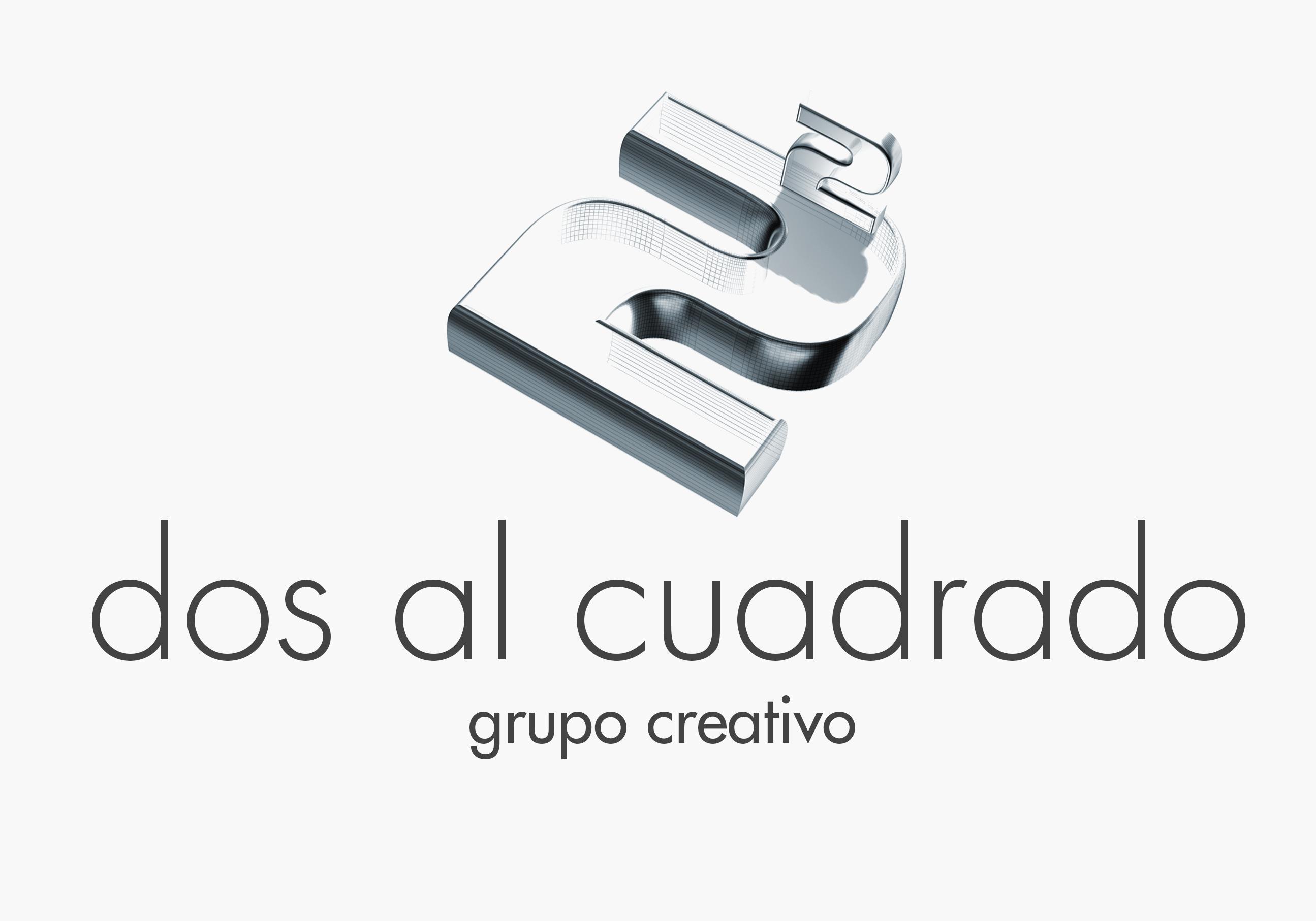 dos al cuadrado logotipo oficial